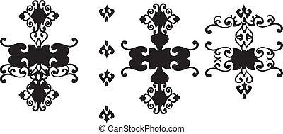 Swirls art design pattern