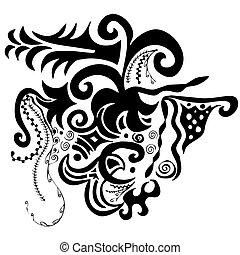 swirls organic design
