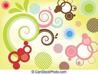 Swirly background