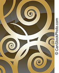 swirly, grafické pozadí