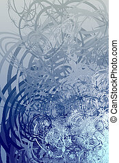 Swirly grunge - Swirly abstract grunge textured background...