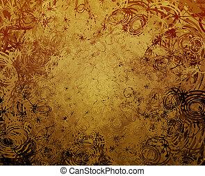 Swirly grunge - Swirly abstract grunge textured background ...