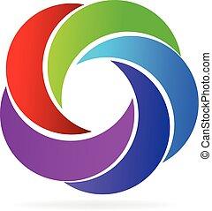 swirly, logo, fale