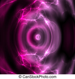Swirly waving energy - Swirly wavy circular flowing energy ...