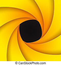 Swirly yellow paper background