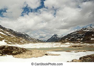 Swiss Alps, Bernina Pass