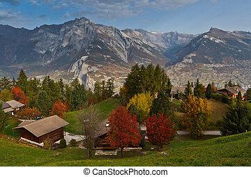 Swiss Alps Village