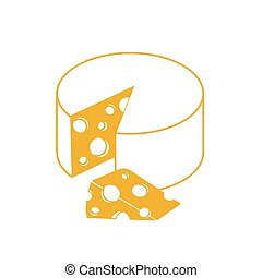 Swiss Cheese  Icon