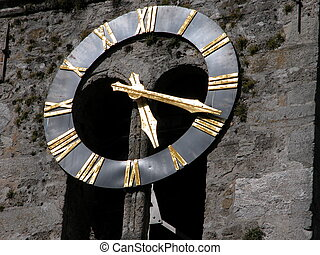 Swiss Clock Face
