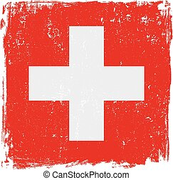 swiss flag vector.eps