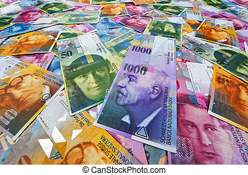 Swiss franc - Swiss Francs, money and currency of...