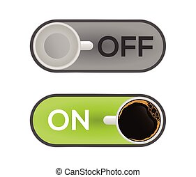 Switch on off with Coffee