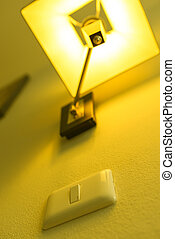 Switch on with lamp