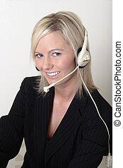 switchboard operator - Pretty lady switchboard operator...