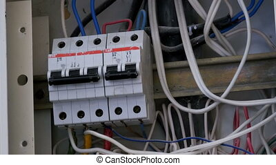 Switching Electric Breaker Box