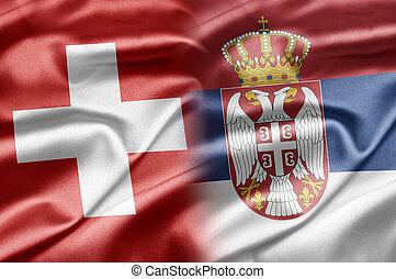 Switzerland and Serbia