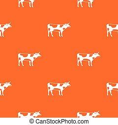 Switzerland cow pattern seamless