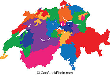 Administrative division of the Swiss Confederation