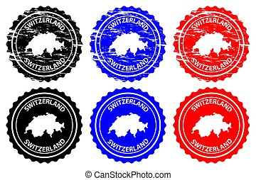 Switzerland - rubber stamp