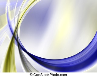 Swooping Texture Abstract - Swooping bands of color against...