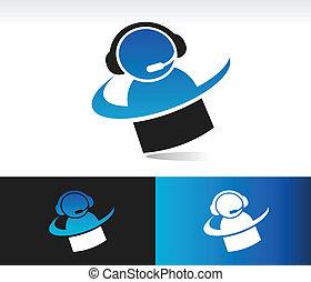 Swoosh Customer Service Icon