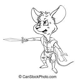 sword., マウス, 漫画