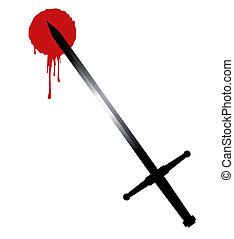 Sword blood art