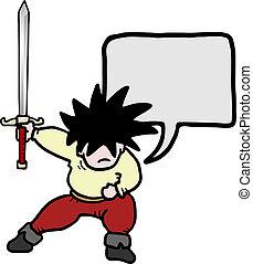 Sword character