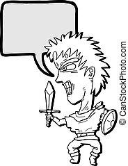 Sword comic