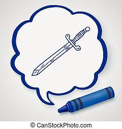 sword doodle