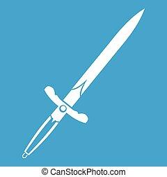 Sword icon white
