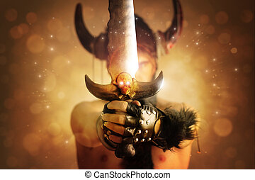 Sword of warrior