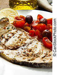 swordfish with tomatoes