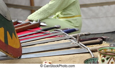 Swords and Cleaving Weapons - Medieval swords and weapons on...