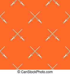 Swords pattern seamless - Swords pattern repeat seamless in...