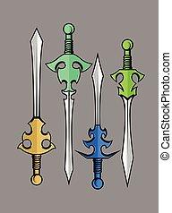 Swords Vector Designs