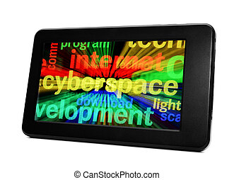 Syberspace on pc tablet