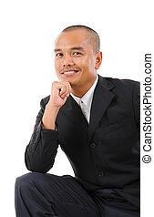 sydøst asian, forretningsmand
