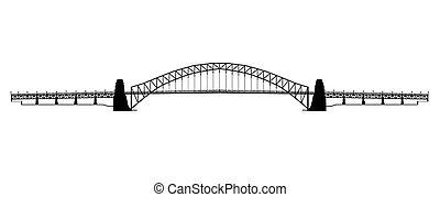 sydney ελλιμενίζομαι γέφυρα , περίγραμμα