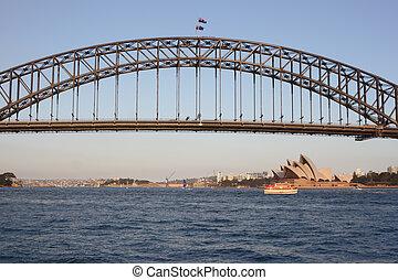 sydney ελλιμενίζομαι γέφυρα