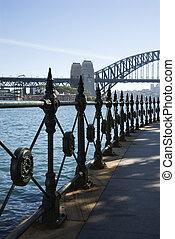 sydney beherbergt brücke, australia.