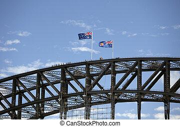 sydney beherbergt brücke, sydney, australia