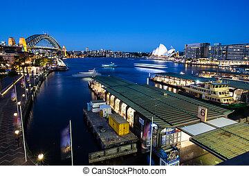Sydney Boat Traffic