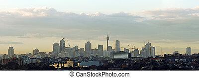 Sydney cityscape panorama
