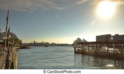 Sydney Commuter Ferry - Sydney, Australia: 10 September 2013...