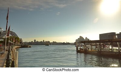 Sydney Commuter Ferry - Sydney, Australia: 10 September 2013...
