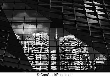 Sydney Distorted - Sydney CBD and Centrepoint Tower