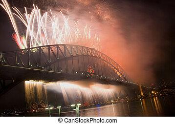 Sydney Harbour Bridge New Year
