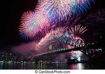 Sydney Harbour New Year's Eve NYE Fireworks - World Renown...
