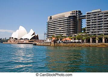 Sydney Harbour Scene
